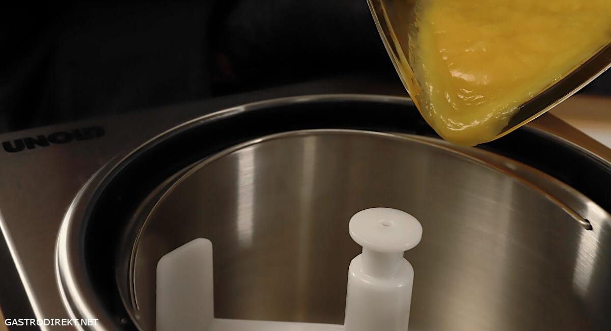 Unold 48880 Eismaschine Mangosorbet selber machen