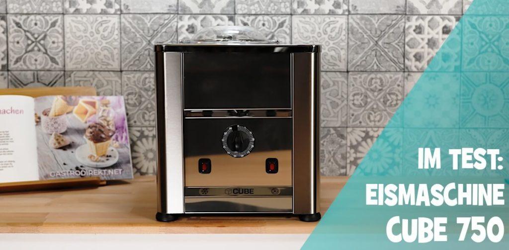 Cube 750 Eismaschine im Test