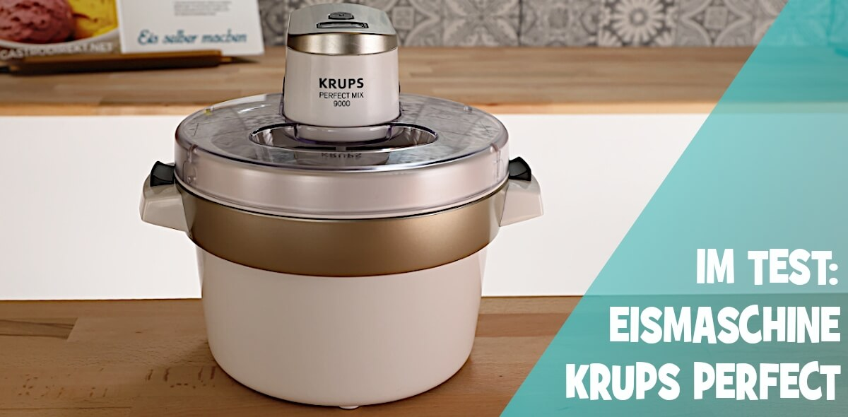 Krups Eismaschine Test